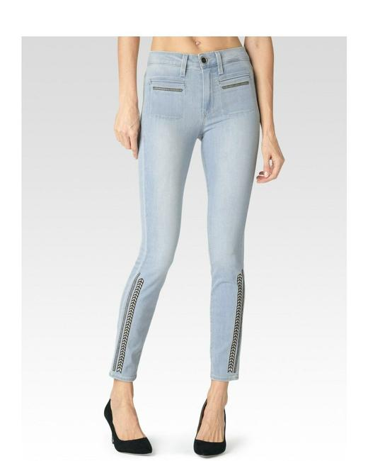 Item - Blue Medium Wash Hoxton High Rise Ankle In Braylee Skinny Jeans Size 28 (4, S)