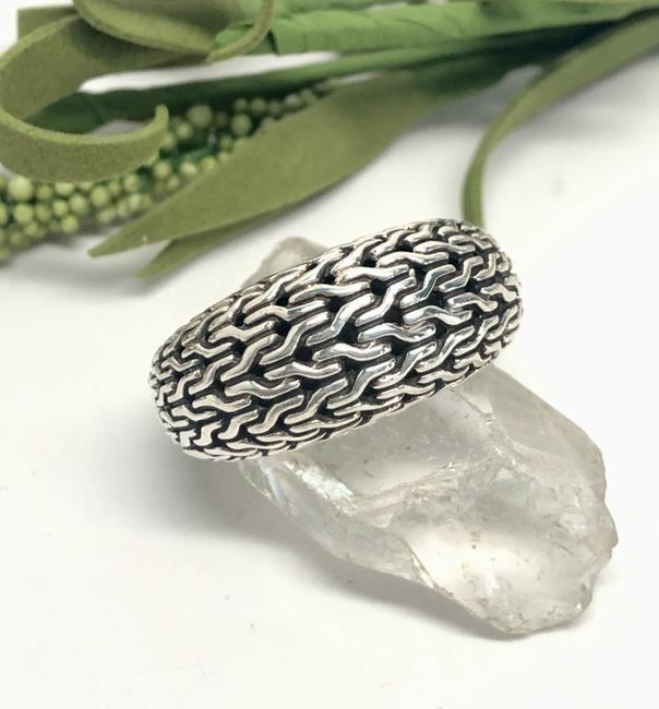 Item - Classic Chain Dome Band .925 Silver Ring