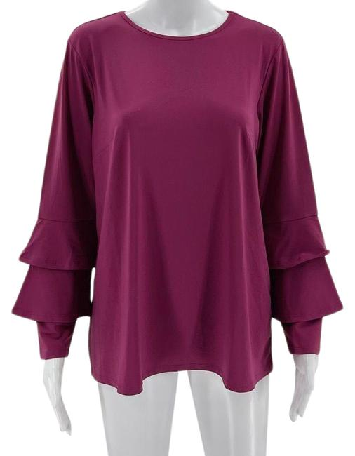 Item - Magenta Bell Sleeve Blouse Size 8 (M)