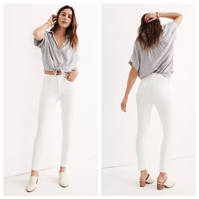 Item - White Light Wash High Rise Skinny Jeans Size 4 (S, 27)