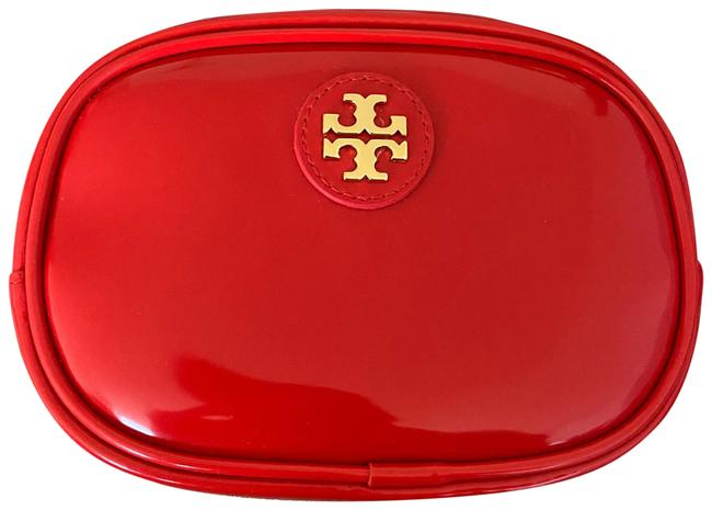 Item - Red Patent Leather Cosmetic Bag