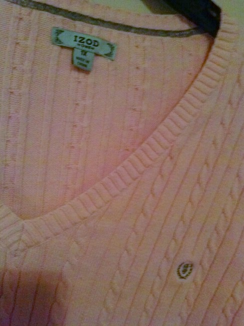 Izod Pastels Preppy Classic Cadyalm Casual Career Work Large Woman's Plus Xl Fine Designer Alligator Under 50 25 20 Travel Sweater