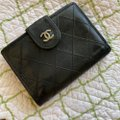 Chanel Chanel wallet black leather