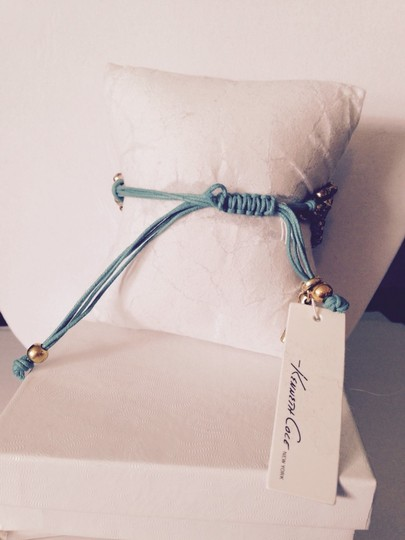 Kenneth Cole Kenneth Cole Yellow, Turquoise, Silver & Gold Weave Bead Bracelet Only! Matching Pieces Sold Seperately.