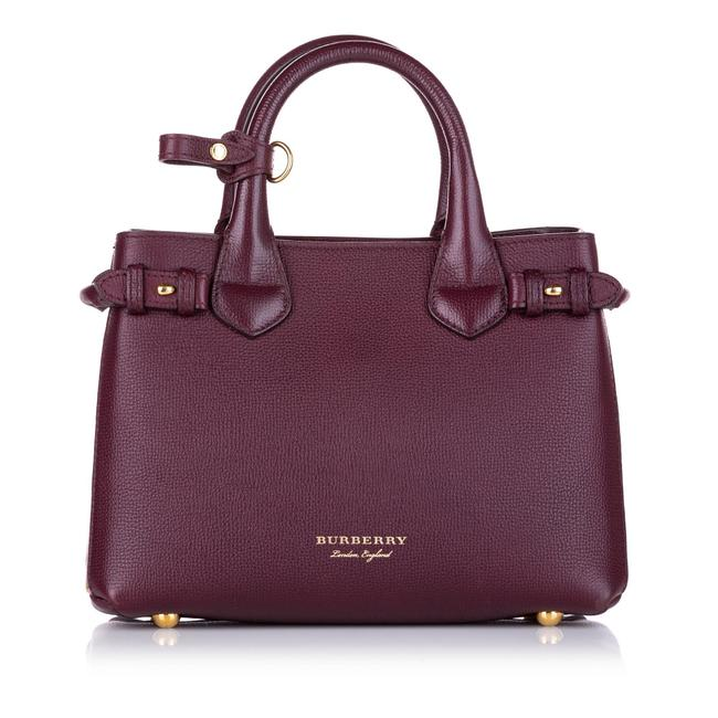 Item - Banner Red Leather Satchel
