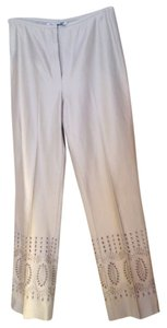 Vince Camuto Dress Straight Pants Tan