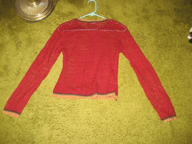 GIA Unique Knit Summer Polyester Sweater
