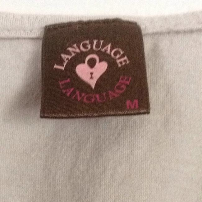 Language Top Tan With Black Accents