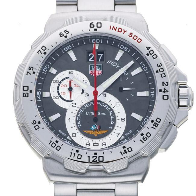 Item - Formula 1 Indy 500 Men's Cah101a Stainless Steel Gray Dial Watch