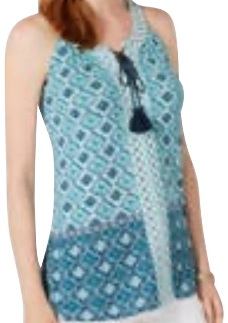 Item - Green Embroidered Medium Blouse Size 10 (M)
