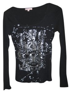 Romeo & Juliet Couture Longsleeve T Shirt black