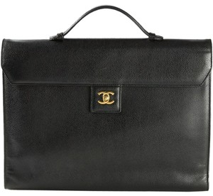 Chanel Briefcase Vintage Rare Laptop Bag