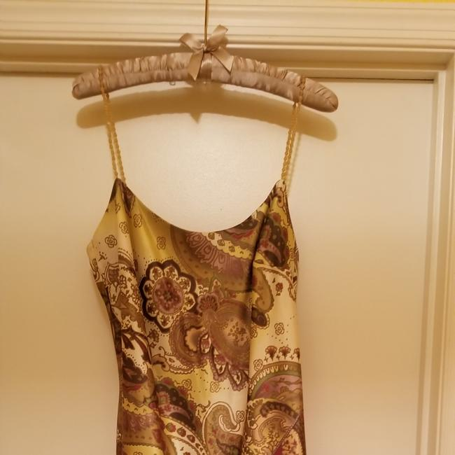Item - Shades Of Green Hi Low Long Night Out Dress Size 14 (L)