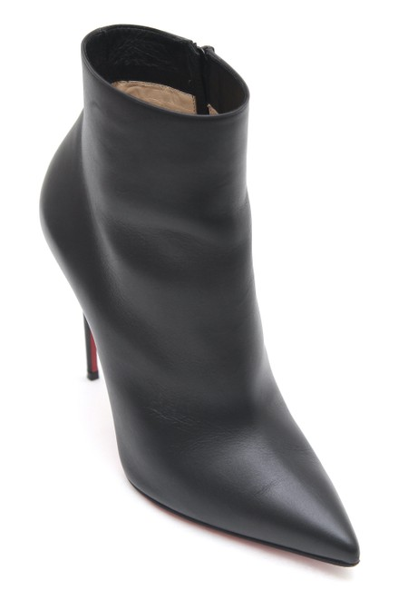 Item - Black Leather Ankle So Kate 100mm Boots/Booties Size EU 37.5 (Approx. US 7.5) Regular (M, B)