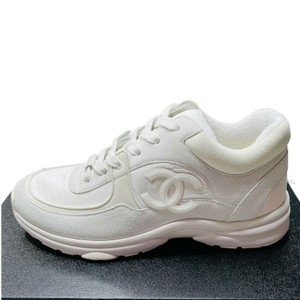 Chanel Trainer Sneakers Trainers White Athletic