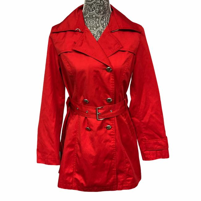 Item - Red Small Coat Size Petite 6 (S)