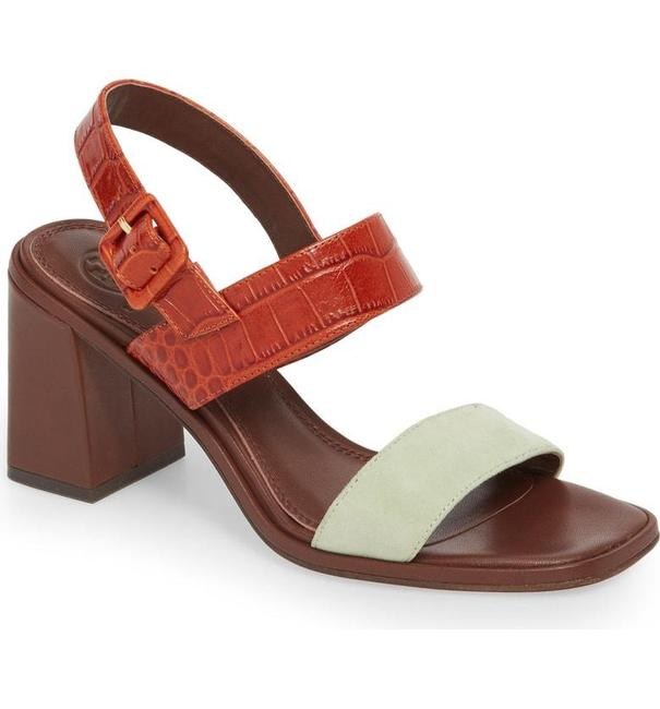 Item - Green New Delaney Double Strap Leather Sandals Size US 9 Regular (M, B)