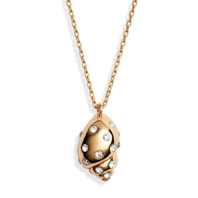 Item - New Under The Sea Pavé Shell Necklace