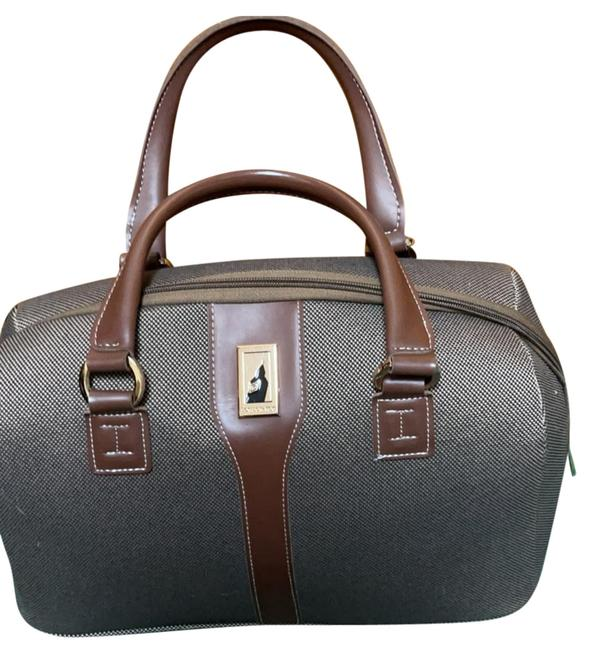 Item - Used A Couple Of Times Brown Cloth Material Satchel