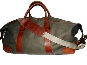 Ralph Lauren Polo Duffel Duffle Mens Gifts Mens Fathers Day Olive Khaki  Travel Bag 074325155e