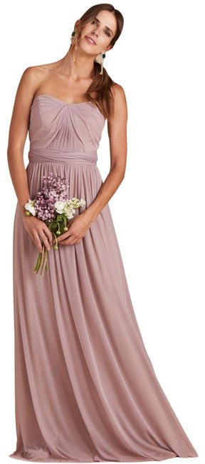 Item - Mauve Chicky Bridesmaid Convertible New Long Formal Dress Size 10 (M)