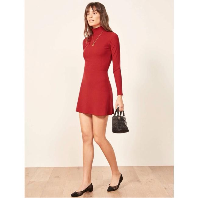 Item - Red New Maya Short Casual Dress Size 4 (S)