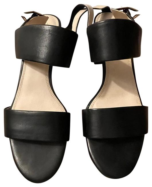 Item - Black Only Worn Once Chunky Heal Sandals Size US 7.5 Regular (M, B)
