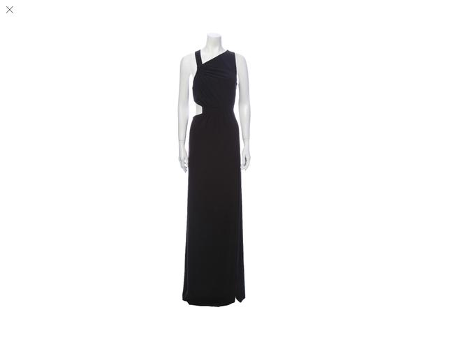 Item - Black Asymmetrical New with Tags Long Night Out Dress Size 4 (S)