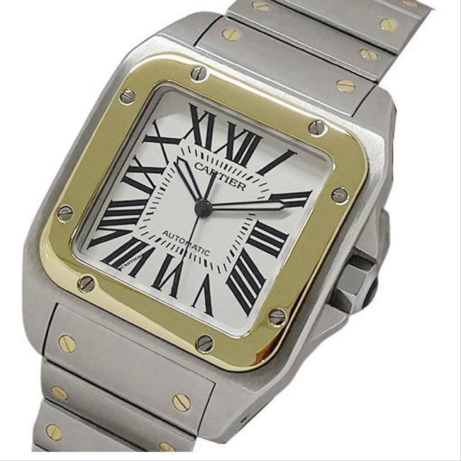 Item - W200728g Santos 100 Lm Combi At Men's Oh / Polished Watch
