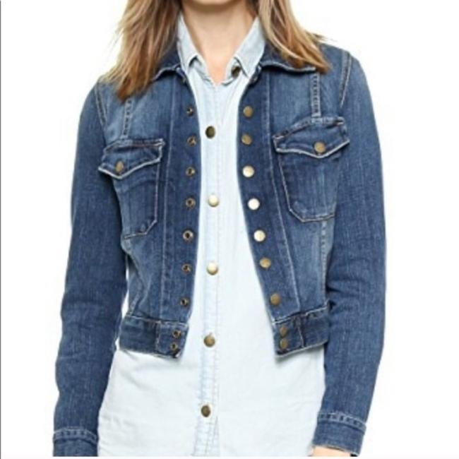 Item - Blue The Snap Loved Jacket Size 4 (S)