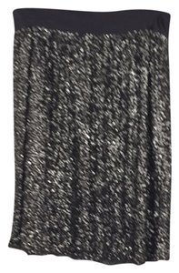 Lafayette 148 New York Skirt Gray Blend