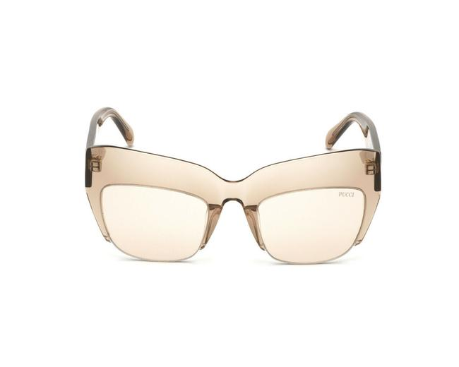 Item - Brown Ep0138-45e-52 Size 52mm/22mm/145mm Frame Sunglasses