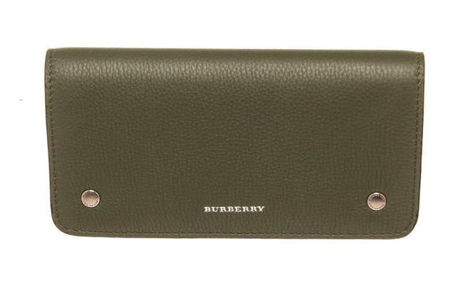 Item - Green Leather Continental Wallet