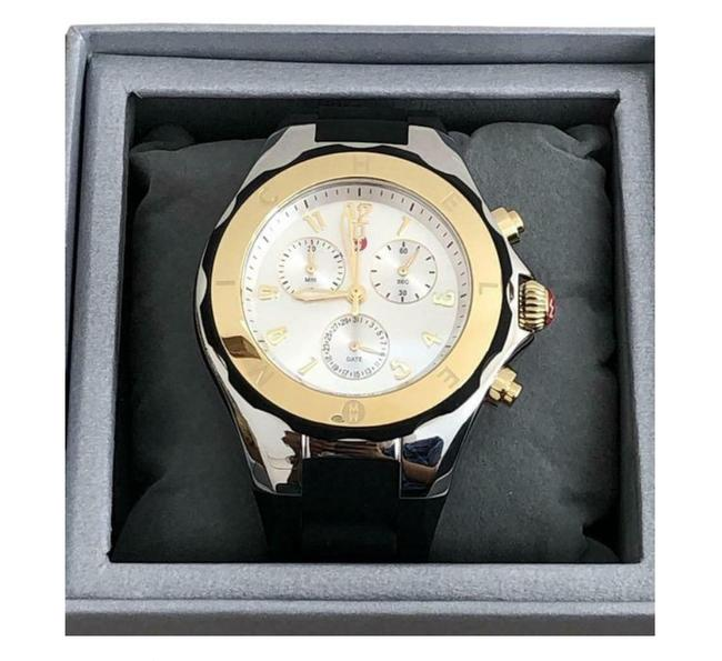 Item - Gold Jelly Tahitian Bean Gold/Silver Watch