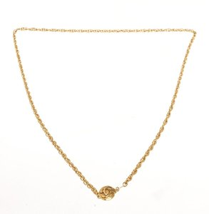 Chanel Chanel Gold CC Necklace
