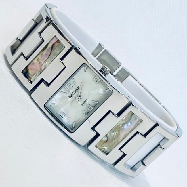 Item - Silver Abalone Mother Of Pearl Mm91073 Watch