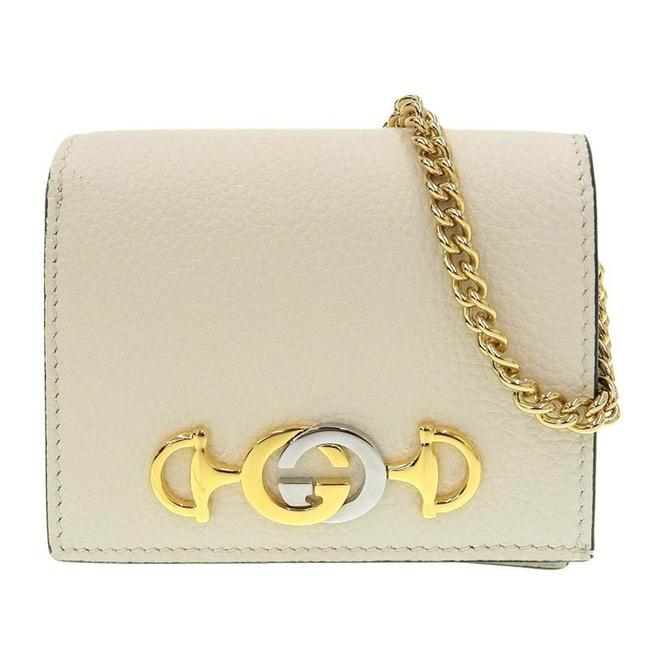 Item - Ivory Chain Zumi Leather 570660/2184 Wallet