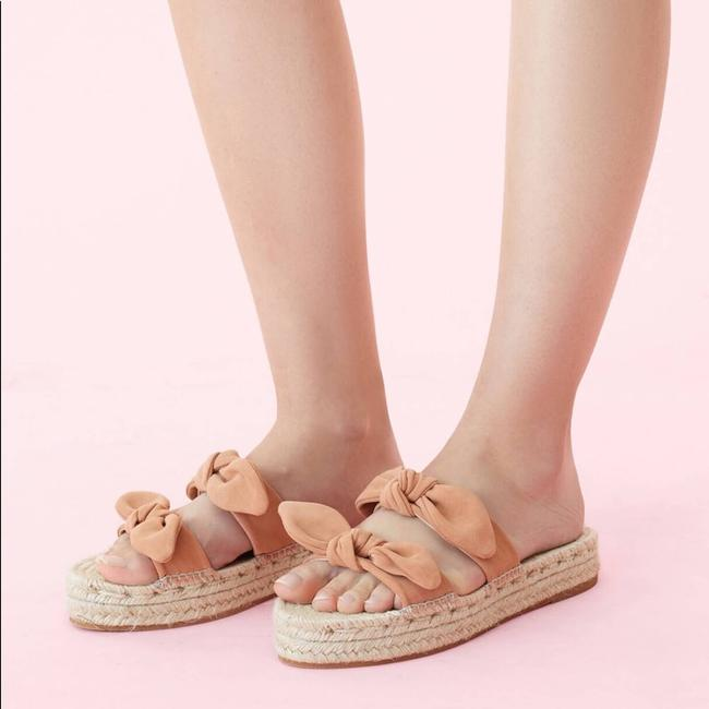 Item - Pink Daisy Two Bow Espadrille Sandals Size US 9 Regular (M, B)