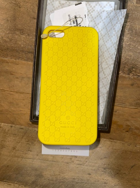 Item - Yellow Gg ssima Iphone 5 Case Tech Accessory