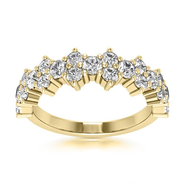 Item - 14k Yellow Gold 0.85ct Ladies Round Cut Band In Ring