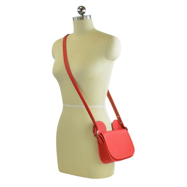 Item - Shoulder Patricia Red Leather Cross Body Bag