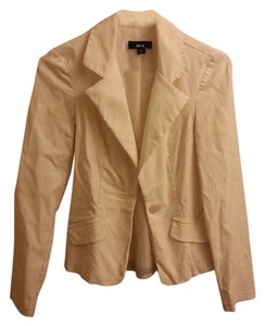 BCX Tailored Fit Stretch White Blazer