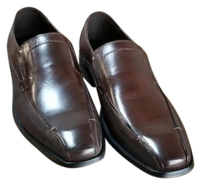 Item - Brown Men's Leather Witter Slip-ons Boots/Booties Size US 9.5 Regular (M, B)