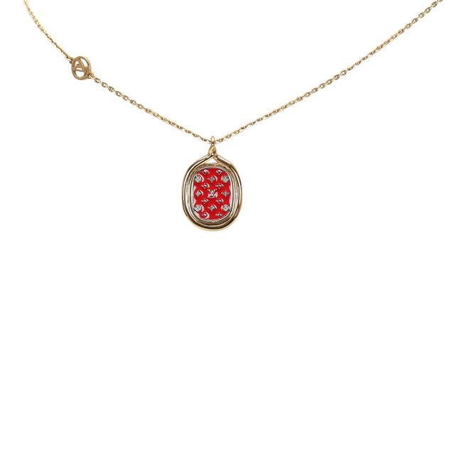 Item - Red Collier Lady Lucky Necklace