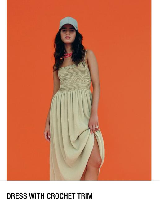 Item - Taupe Long Casual Maxi Dress Size 4 (S)