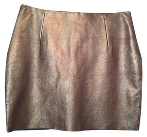 Trina Turk Skirt Metallic Copper