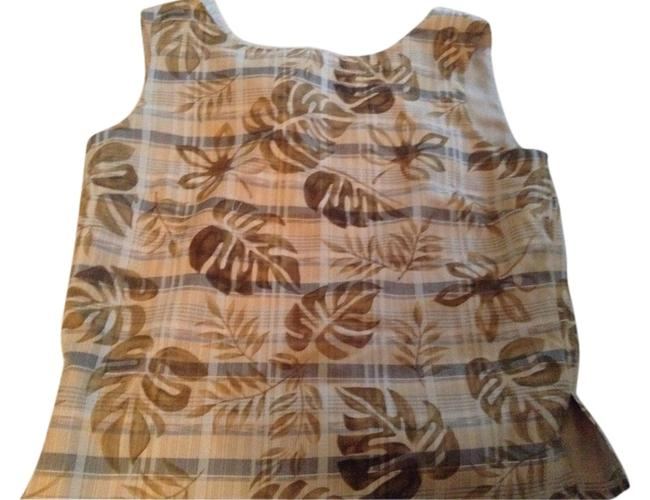 Preload https://item3.tradesy.com/images/tommy-bahama-tan-blouse-size-4-s-2954317-0-0.jpg?width=400&height=650