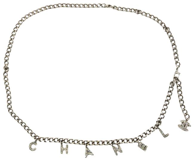 Item - Silver Metal Logo Charms Chain Belt #36424 Necklace