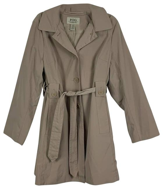 Item - Tan Hooded Trench X-large Coat Size 16 (XL, Plus 0x)