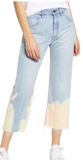 Item - Blue Light Wash Sloane High Waist Ankle Relaxed Fit Jeans Size 6 (S, 28)